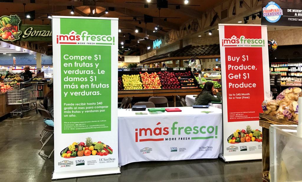 ¡Más Fresco! at Northgate Gonzalez Market